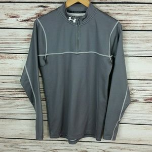 Under Armour Cold Gear 1/4 Zip Pullover Small EUC